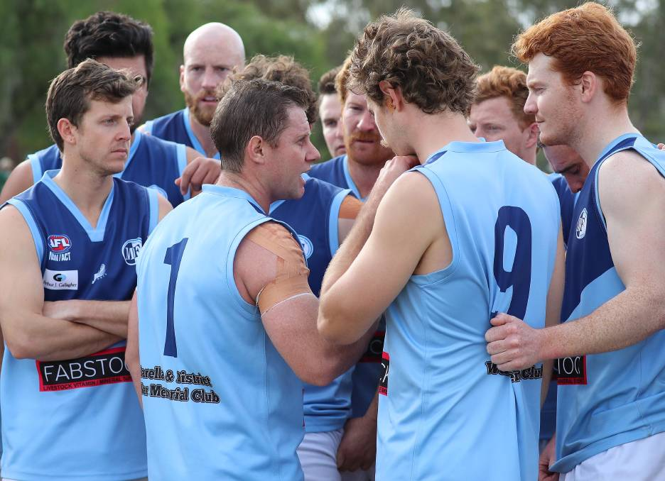 SITTING IT OUT: Barellan has decided not to play in this year's Farrer League competition but are determined to return for the 2021 season. Picture: Les Smith