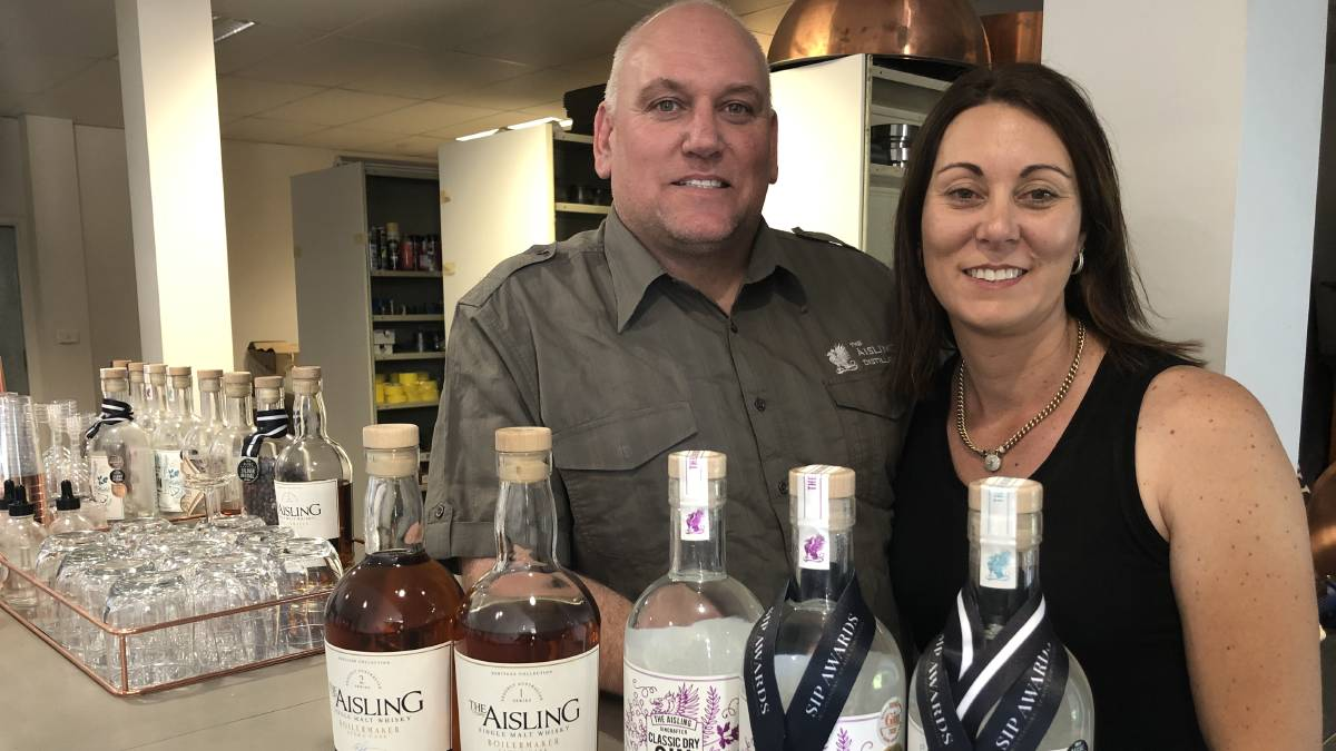 FLAT OUT: Mark and Michelle Burns haven't stopped this year saying the support has been amazing from the Griffith community to get behind local producers.