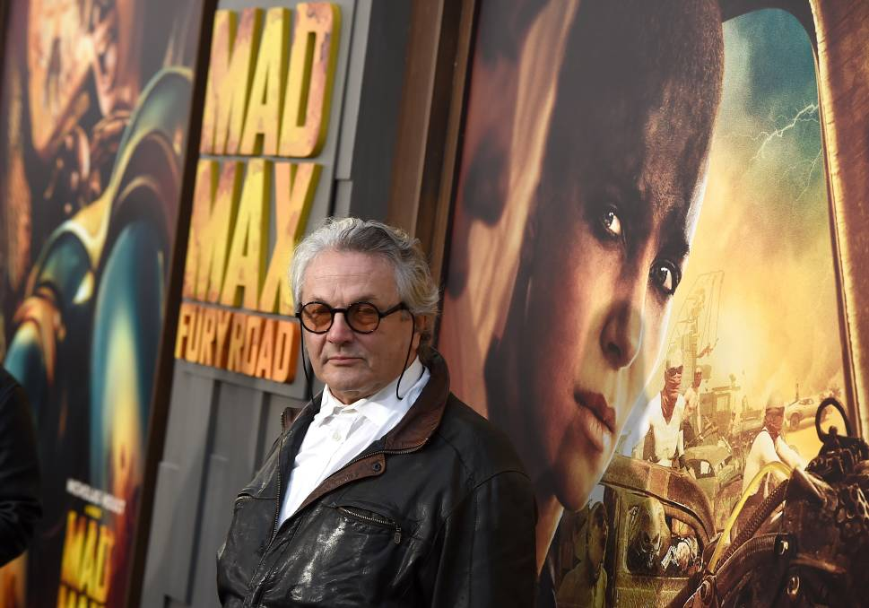 Director George Miller attends the premiere of Mad Max: Fury Road in 2015. Mr Miller will direct the prequel Furiosa, which will be partially filmed in Hay.