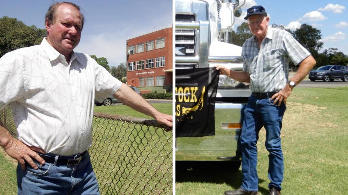 COMMUNITY MOURNS: Leeton shire residents the late Neil Boardman (left) and the late Buster Ryan (right) both tragically lost their lives in accidents within the last week. Photos: The Irrigator