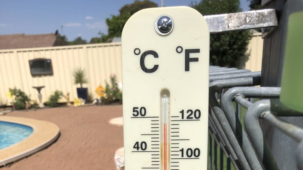 SWELTERING: Temperatures will surpass 40 degrees in Griffith on Friday and Saturday, according to the Bureau of Meteorology