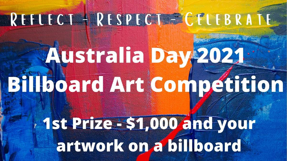 STAND OUT: The winner of the competition will have their art featured on a full size billboard. PHOTO: Supplied
