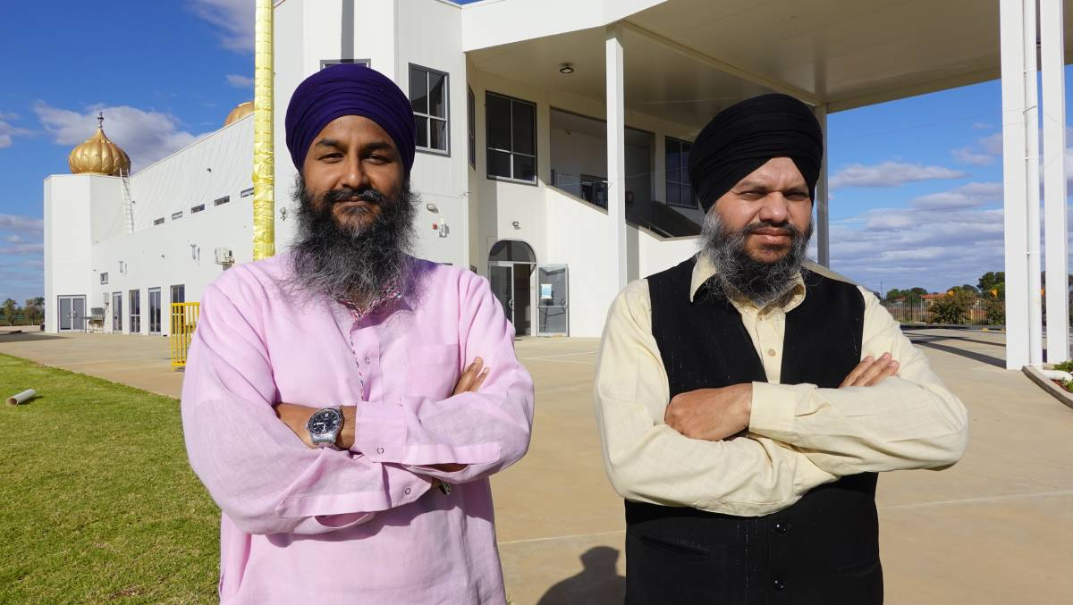 HARD CALL: Griffith gyanis Hardeep Singh and Gursahib Singh are among the thousands disappointed the Sikh Games have been called off for the second year in a row. PHOTO: Monty Jacka.
