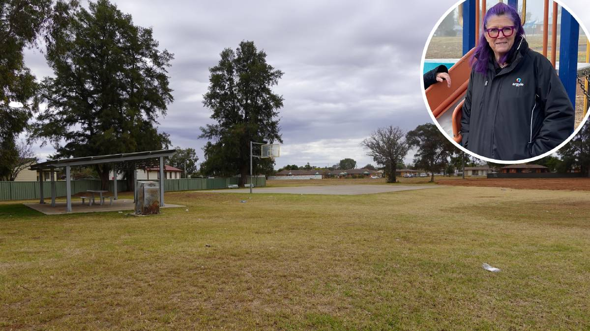SMALL FIX: Argyle Housing CEO Wendy Middleton says the Griffin Green housing project at Dave Taylor Park will go 'a part way' to addressing the severe lack of social housing in Griffith.