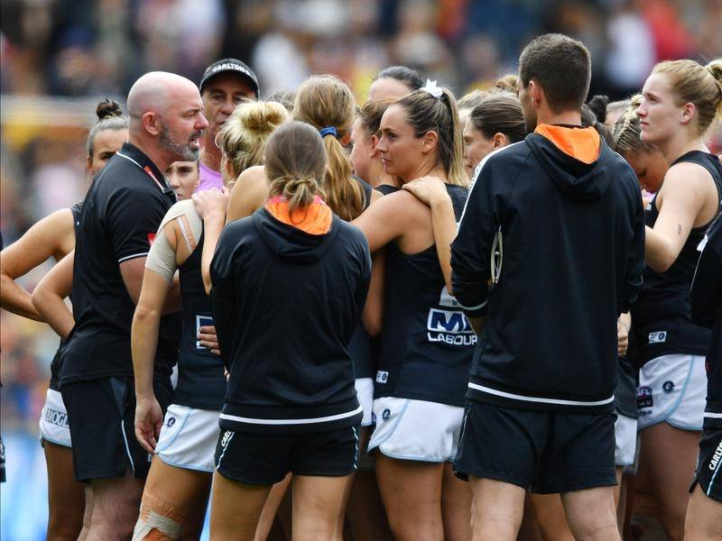 Carlton AFLW coach Daniel Harford says the Blues are ready for any challenge during the 2021 season.